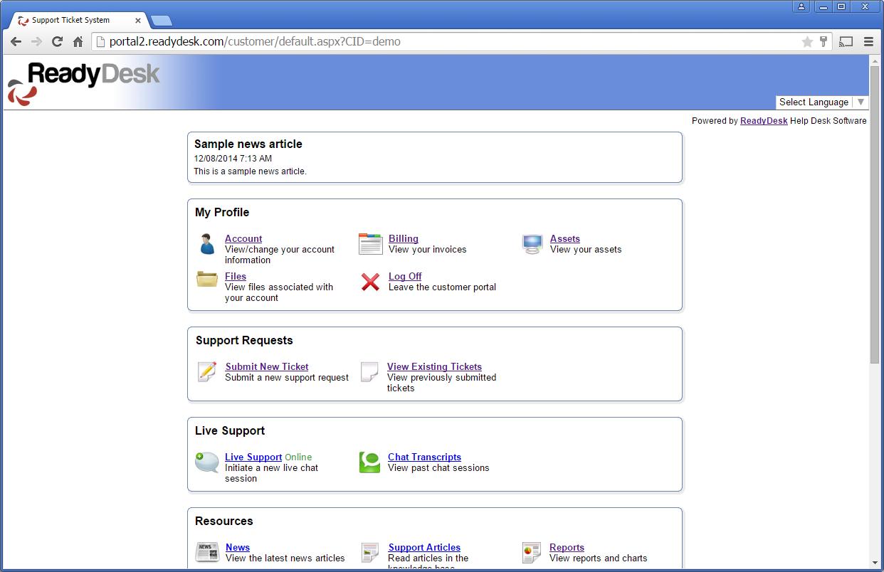 my chat portal